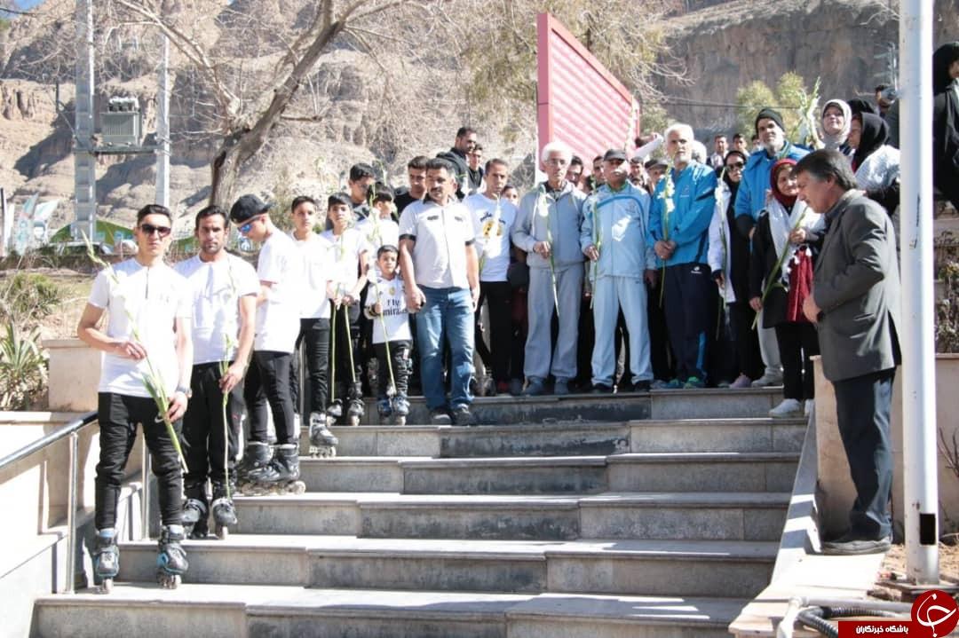 تجدید میثاق جامعه بزرگ ورزش و جوانان با سردار دل ها + تصاویر