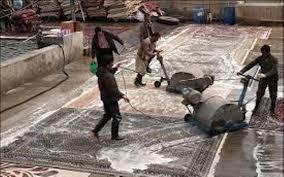 تشدید نظارت بر قالیشویی ها در ایام پایانی سال////فعلا کارنشود