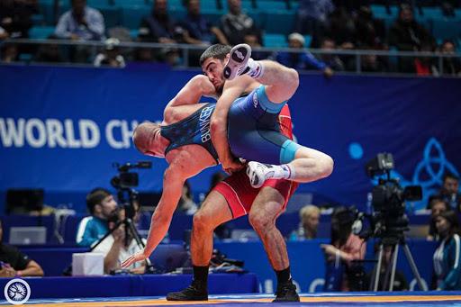 قهرمانی روسیه در کشتی فرنگی قهرمانی اروپا