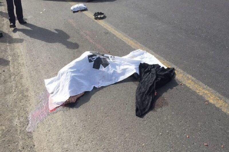 مرگ تلخ دو جوان مشهدی در سانحه موتور سیکلت
