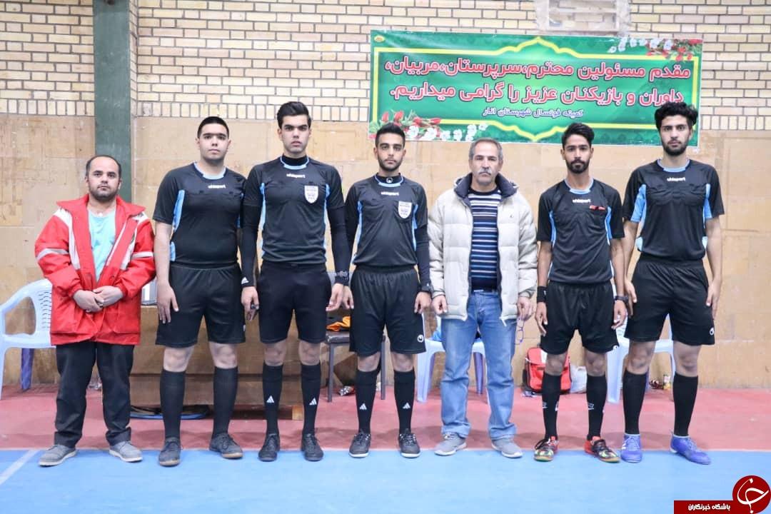 انار میزبان مسابقات لیگ برتر فوتسال کرمان + تصاویر