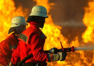 کارگاه آموزش آتش نشانان جنوب فارس در فسا