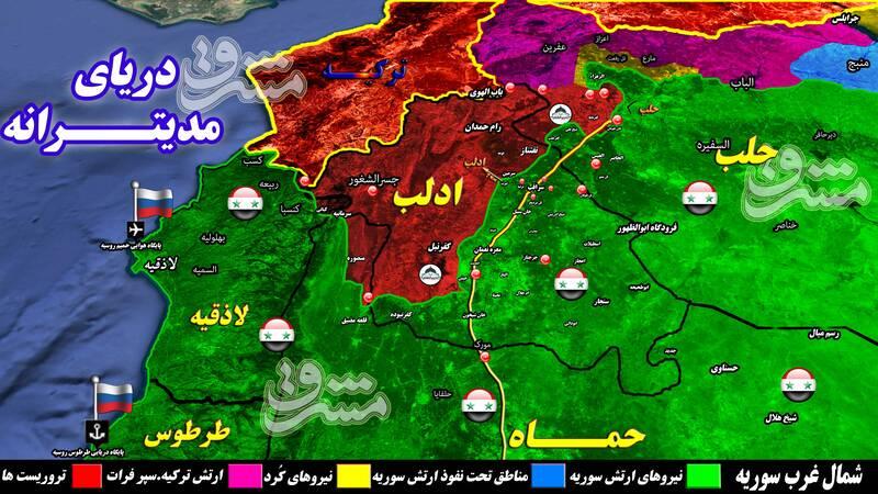 مروری بر ۹ روز نبرد سرنوشتساز و حساس در شمال سوریه + نقشه میدانی و عکس