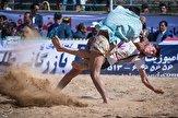 برگزاری مسابقات کشتی باچوخه قندی در بجنورد