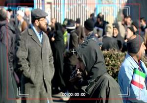 ماجرای جالب یک «آقای نماینده» در راهپیمایی ۲۲ بهمن + فیلم