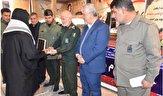 اهدای مدال بانوی رزمی کار کهگیلویه و بویراحمدی به سردار سلیمانی