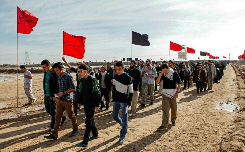 اعزام ۳۲۰ دانش آموز همدانی به مناطق عملیاتی جنوب