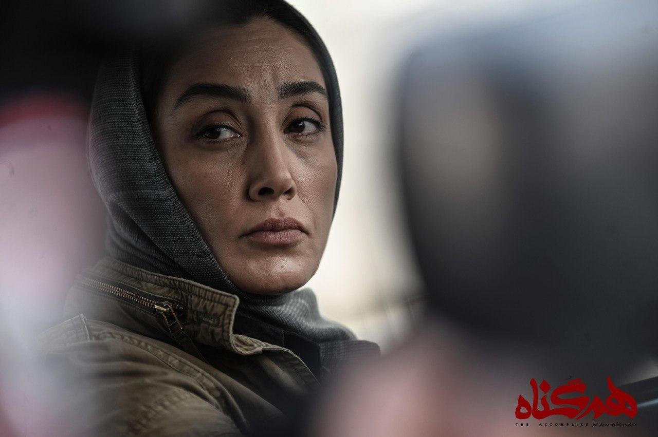 رونمایی از گریم هدیه تهرانی در سریال «همگناه» + عکس