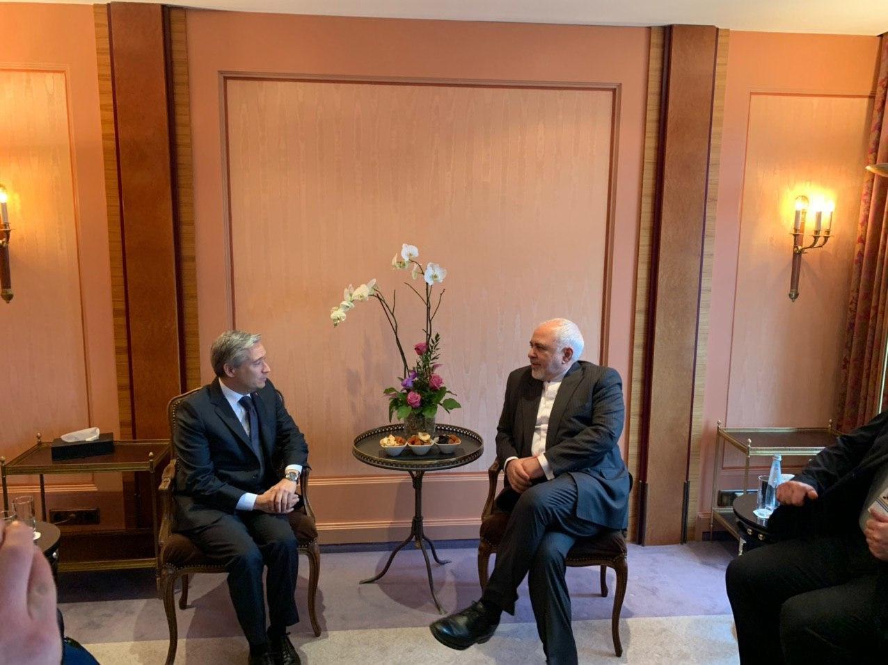 ملاقات وزرای ایران و کانادا
