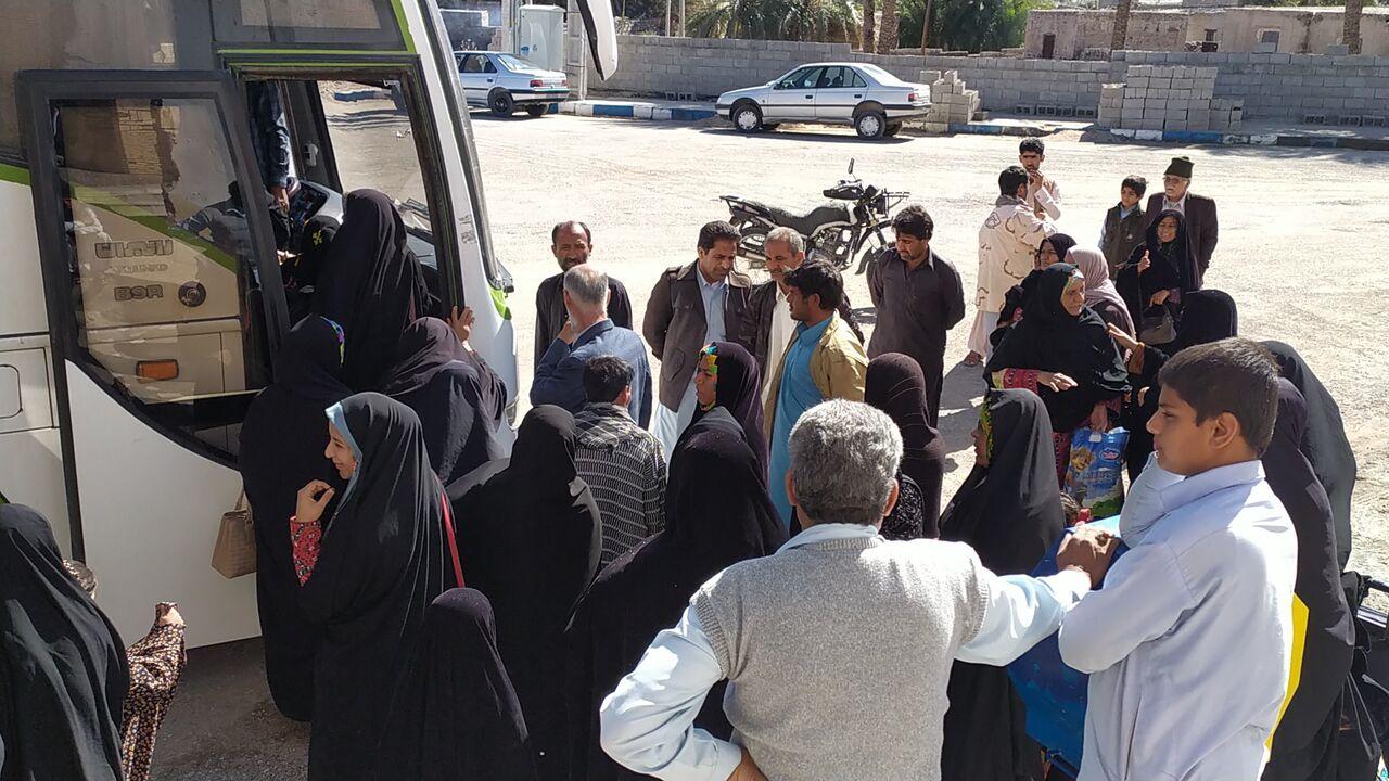 مددجویان بهزیستی بخش بزمان به مشهد مقدس اعزام شدند