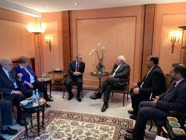 ظریف با گروه «الدرز» دیدار و گفتوگو کرد