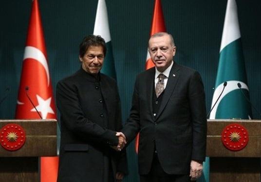 اردوغان و عمران خان