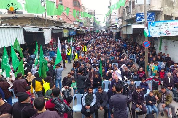 تظاهرات علیه معامله قرن در نوار غزه فلسطین 06