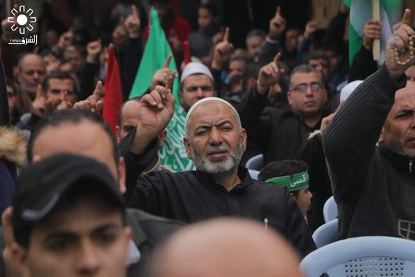 تظاهرات علیه معامله قرن در نوار غزه فلسطین 05