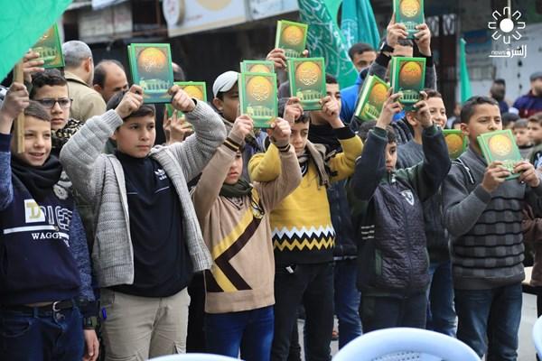 تظاهرات علیه معامله قرن در نوار غزه فلسطین 03