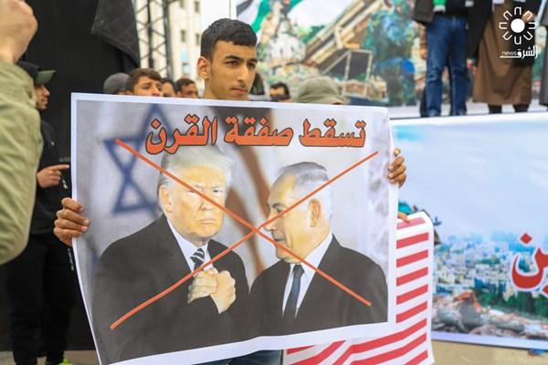 تظاهرات علیه معامله قرن در نوار غزه فلسطین 04