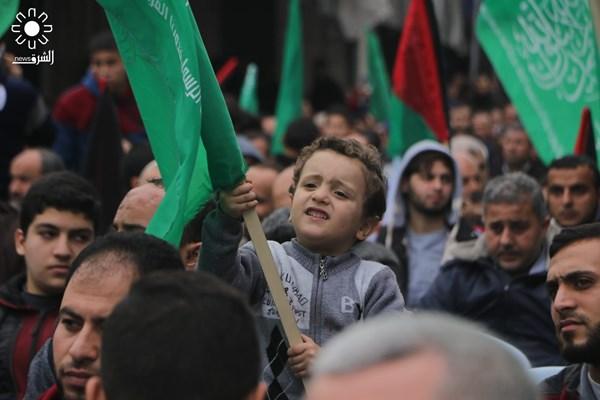 تظاهرات علیه معامله قرن در نوار غزه فلسطین 02