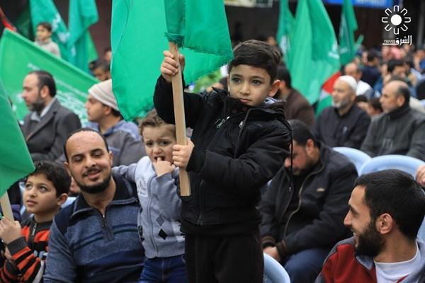 تظاهرات علیه معامله قرن در نوار غزه فلسطین 01