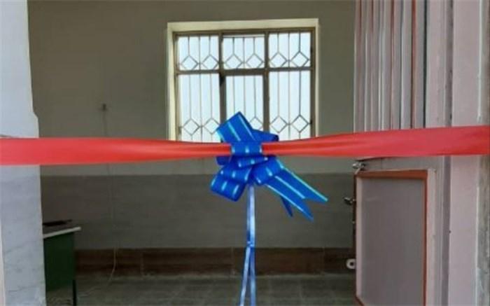 مدرسه ٢ کلاسه روستای دج دادخدا منطقه دشتیاری افتتاح شد