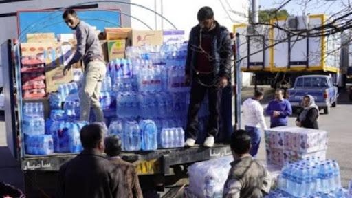 ارسال چهارمین محموله از همدان به سیستان و بلوچستان