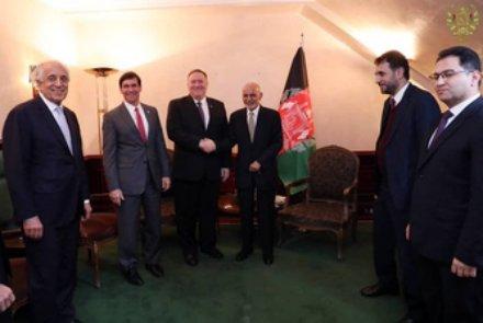 دیدار مقامات ارشد دولت افغانستان و آمریکا در مونیخ