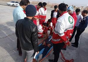 برگزاری آموزشهای دوره توان افزایی نجات در شهرستان درمیان