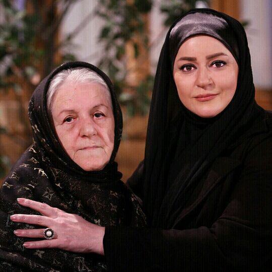 تصاویر دیده نشده از سلفی بازیگران سینما و تلویزیون با مادرهایشان