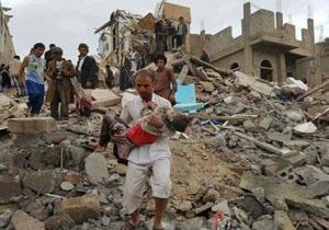 حمله ناجوانمردانه متجاوزان سعودی، ۳۰ یمنی را به کام مرگ کشاند