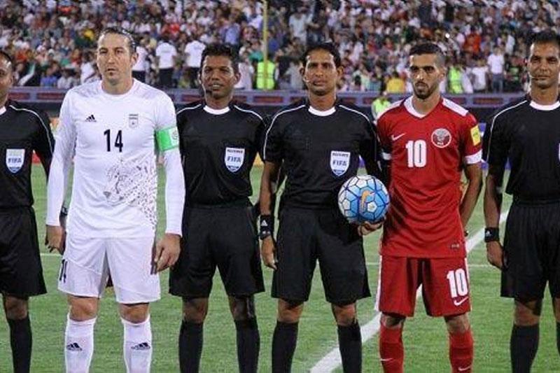 هجدهمین قضاوت داور معروف سریلانکایی برای تیمهای ایرانی