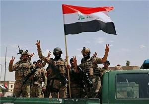 ادامه عملیات یگان مبارزه با تروریسم عراق در موصل