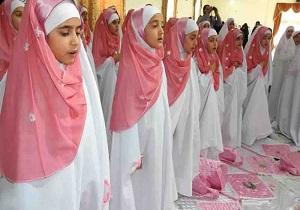 برگزاری جشن تکلیف ۴۱ نفر از دانش آموزان در خضری دشت بیاض