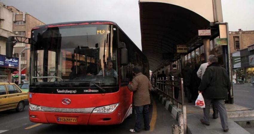 نقص فنی در سیستم گرمایش اتوبوسهای بی آر تی
