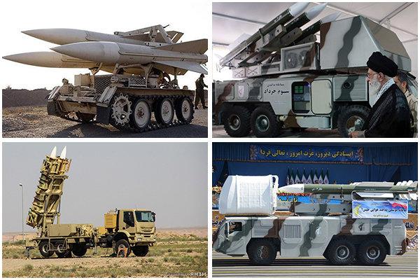 سامانه های پدافندی ایران