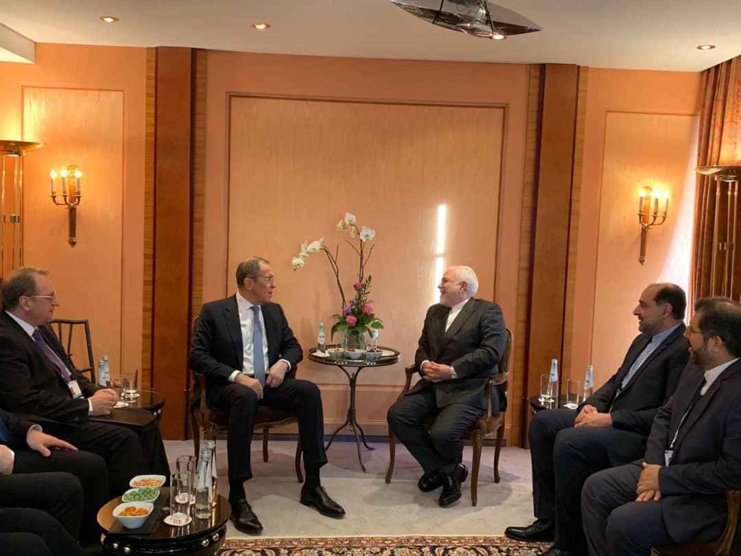 دیدار وزرای خارجه ایران و روسیه