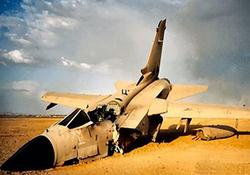 نمایی متفاوت از لحظه سرنگونی جنگنده سعودی در یمن + فیلم