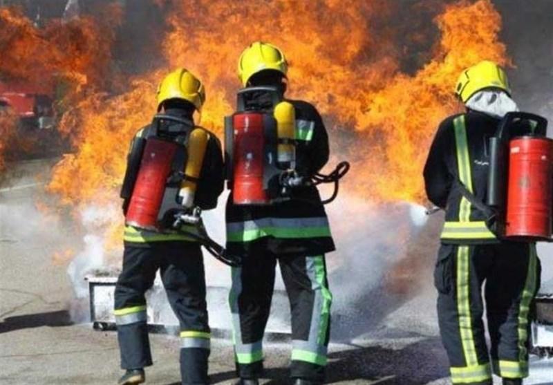 نجات ۳ نفر در عملیاتهای آتش نشانان همدانی