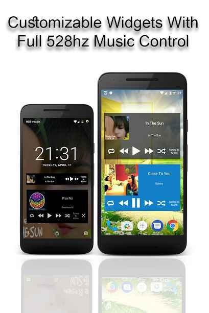 دانلود A 528 Player - Music With Love Like a Pro 23.6 - موزیک پلیر خاص گوشیهای اندرویدی
