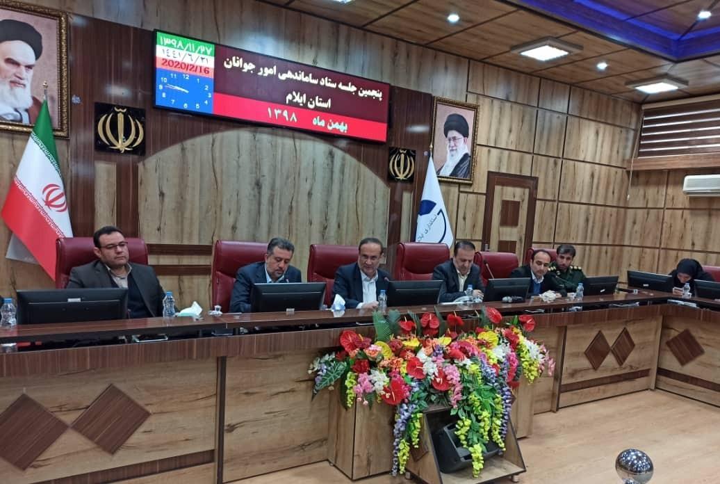برگزاری پنجمین نشست ساماندهی امور جوانان استان ایلام