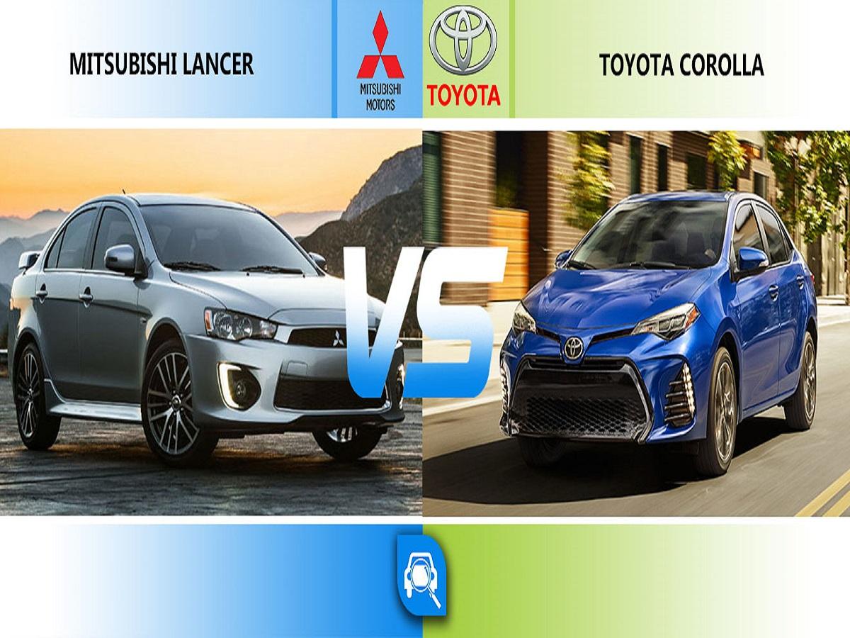مقایسه خودرو میتسوبیشی لنسر با تویوتا کمری