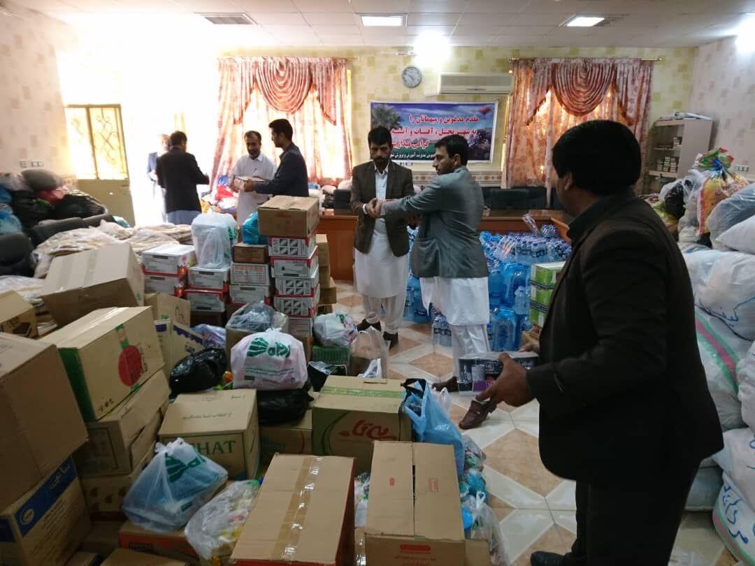 کمک ۷۰۰ میلیون تومانی اوقاف کشور به مناطق سیلزده سیستان و بلوچستان