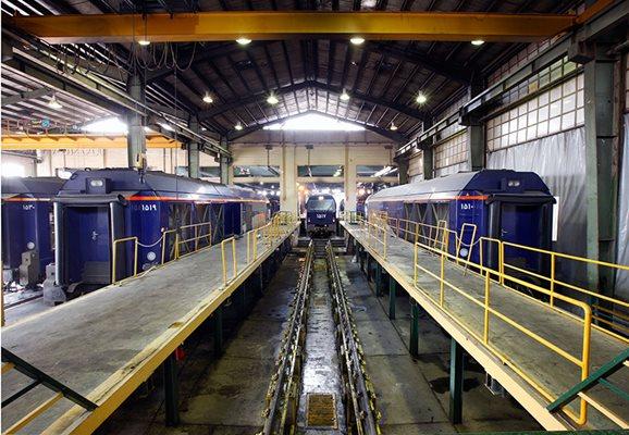مرکز تعمیرات و نوسازی ناوگان ریلی به خوبی فعال شده است