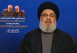 سید حسن نصرالله: دوستان ایران به یک قلعه مستحکم و قوی تکیه کردهاند/ ترامپ وحشی و تروریست است
