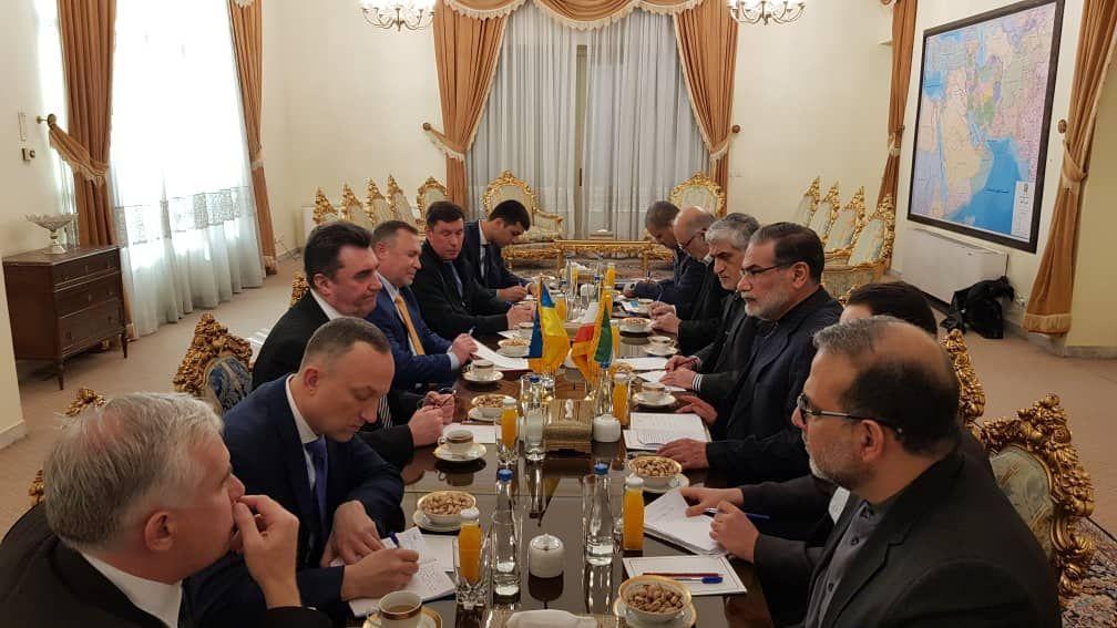 دیدار دبیر شورای امنیت ملی و دفاعی اوکراین با علی شمخانی
