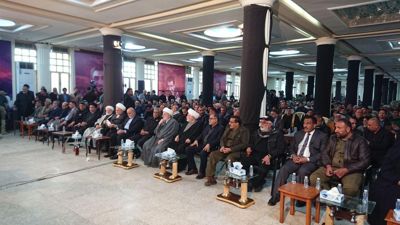 مراسم چهلم سردار سلیمانی در عراق برگزار شد