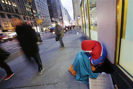نیمی از ساکنان شهر نیویورک زیر خط فقر هستند