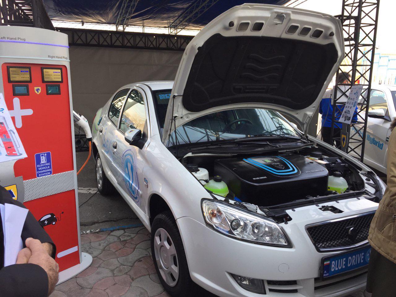 از اولین خودرو تمام برقی ایرانی رونمایی شد + تصاویر