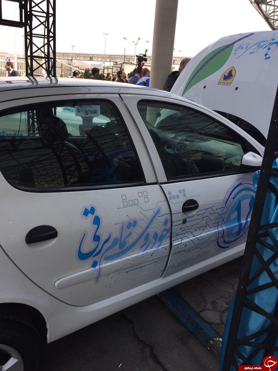خودرو تمام برقی ایرانی