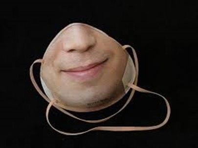 گرگانی// با ماسکی که شبیه صورت شما است، خود را در برابر ویروس کرونا محافظت کنید