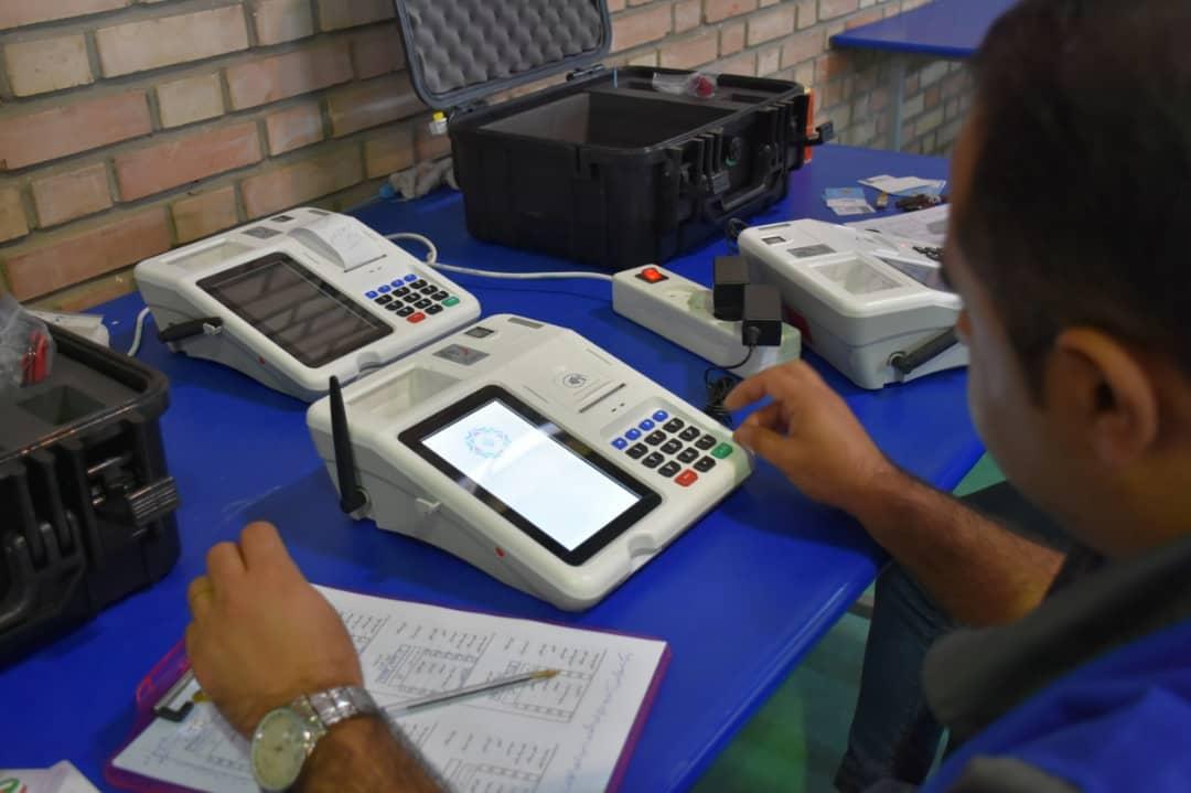 11402106 666 ارسال دستگاههای احراز هویت الکترونیکی انتخابات مجلس یازدهم از البرز به سراسر کشور