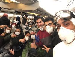 تصویر دانشجویان بازگشته از ووهان ۱۴ روز پس از قرنطینه